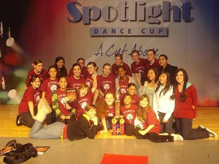 Sherrie's dance studio's competition team